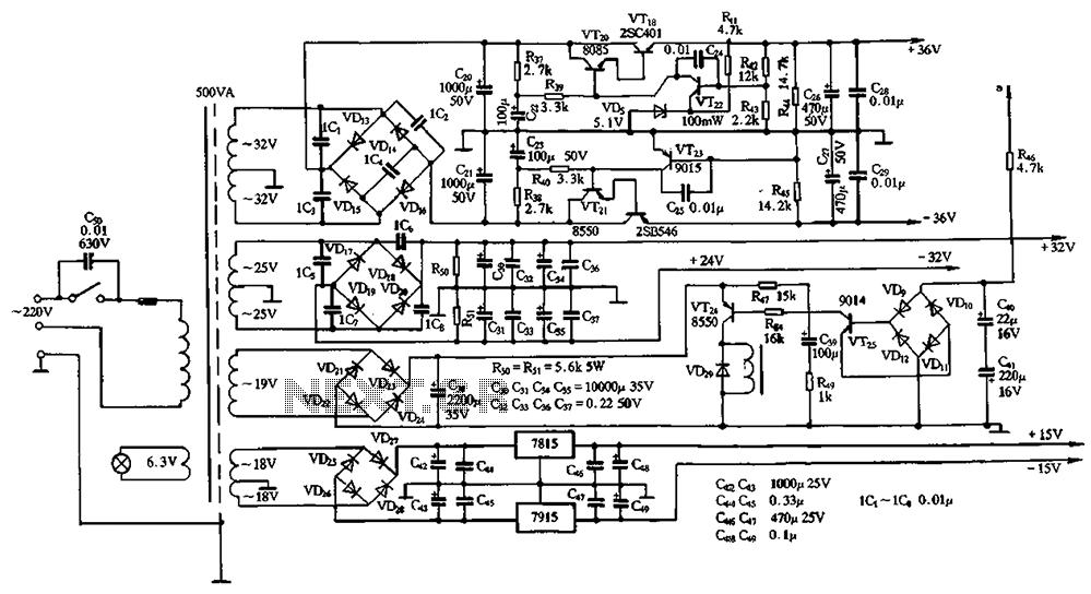 u0026gt  other circuits  u0026gt  power amplifier circuit diamond