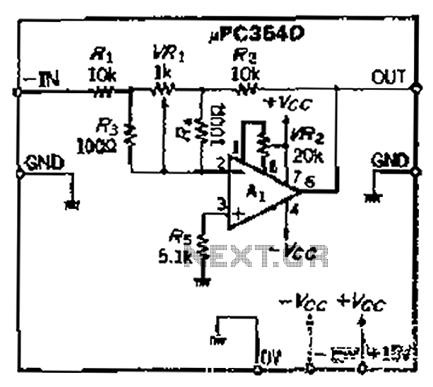precision polarity switching circuit by conventional