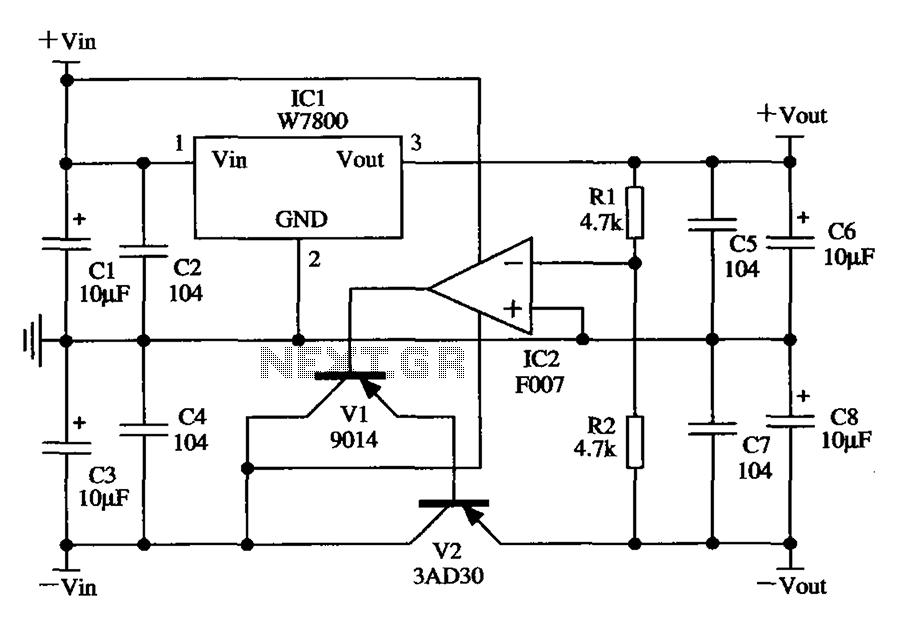 u0026gt  power supplies  u0026gt  w7800 by the application circuit
