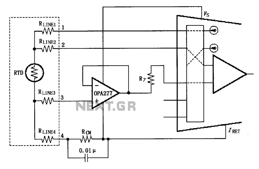 Xtr108 Circuit Diagram Of A Four