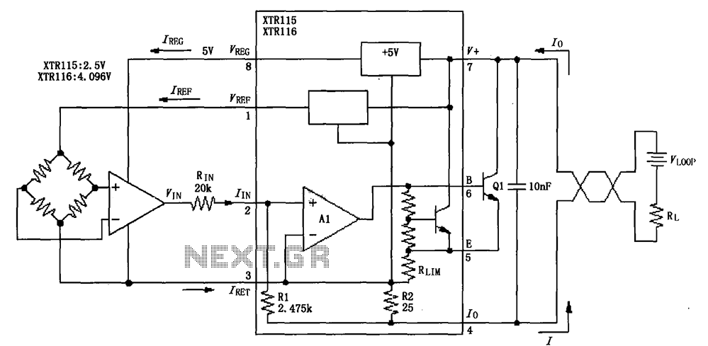u0026gt  other circuits  u0026gt  xtr115 116 basic circuit diagram