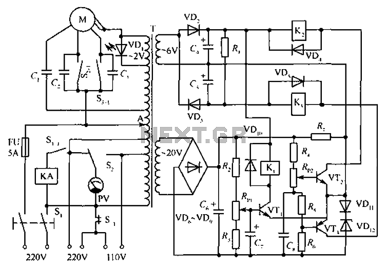 denyo generator internal wiring diagrams