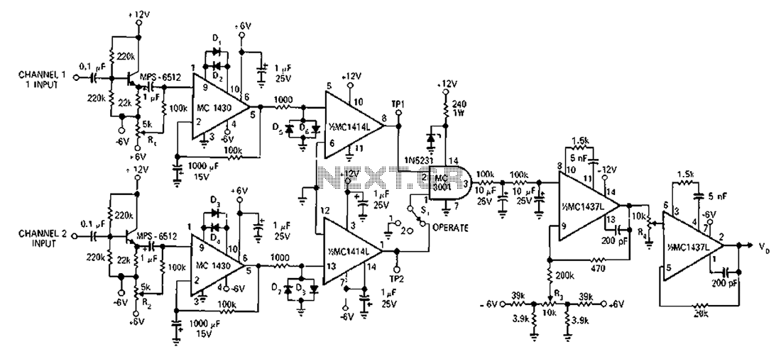 U0026gt  Meter Counter  U0026gt  100hz 1mhz A Circuit Diagram Of The Phase Meter L59903
