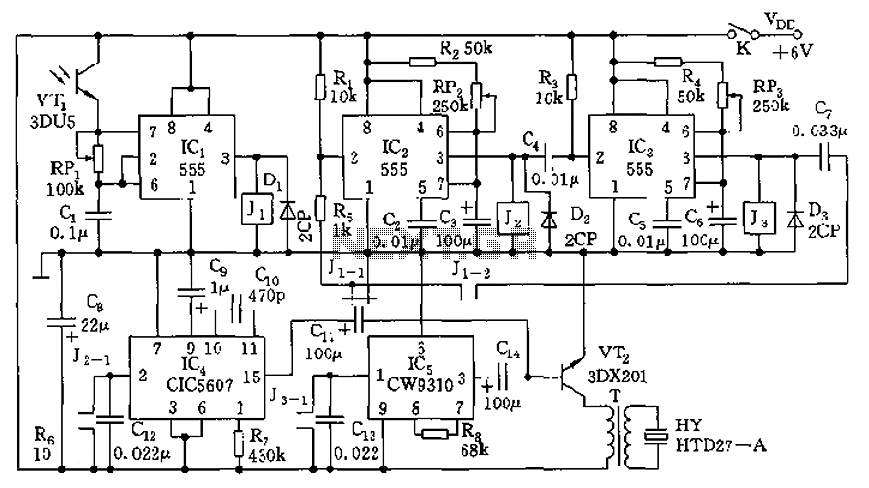 u0026gt  other circuits  u0026gt  555 lm555 ne555 timer circuits  u0026gt  555 happy birthday electronic circuit