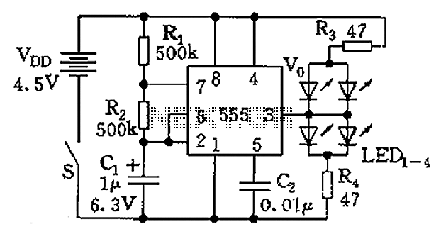555 jewelry small electronic circuit diagram   555 timer