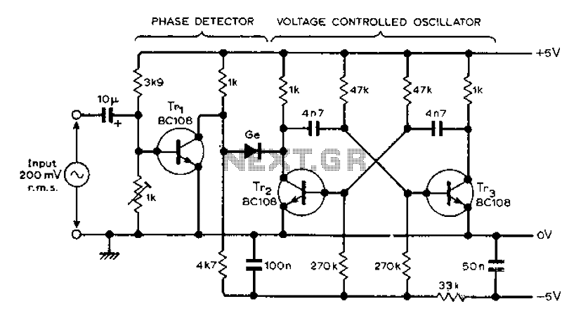 AF locked loop circuit diagram : Other Circuits - Next.gr