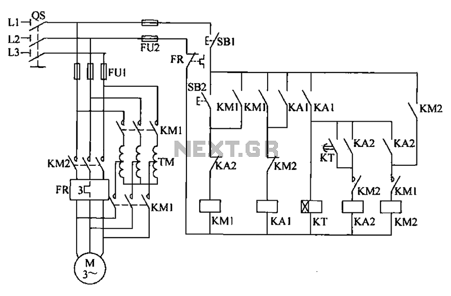 Autotransformer decompression control circuit automation circuit page 15 next gr autotransformer starter wiring diagram at n-0.co