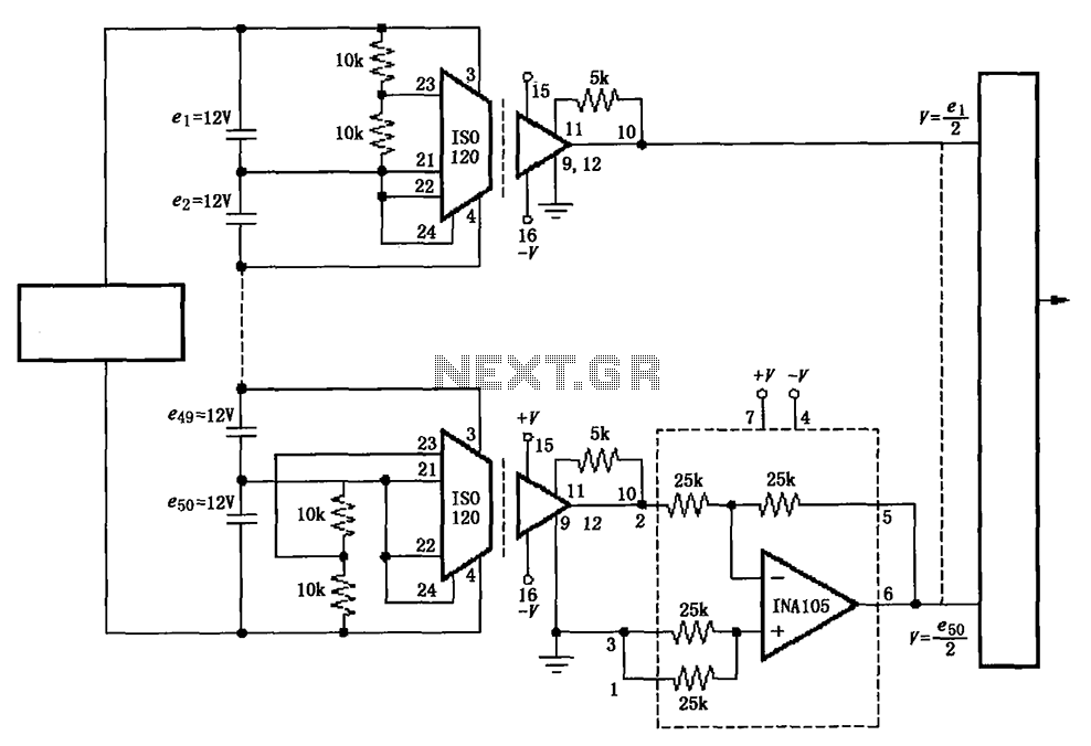 Enjoyable Battery Monitoring Instrumentation Amplifier Circuit Diagram Iso120 Wiring 101 Capemaxxcnl