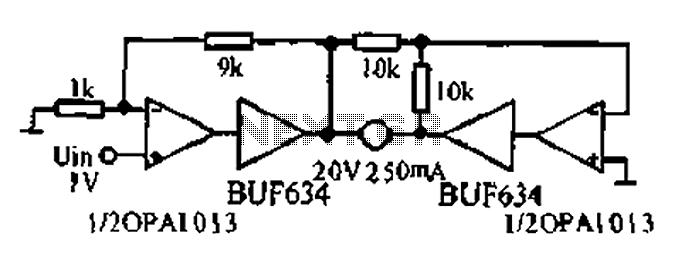 Bridge motor drive circuit - schematic