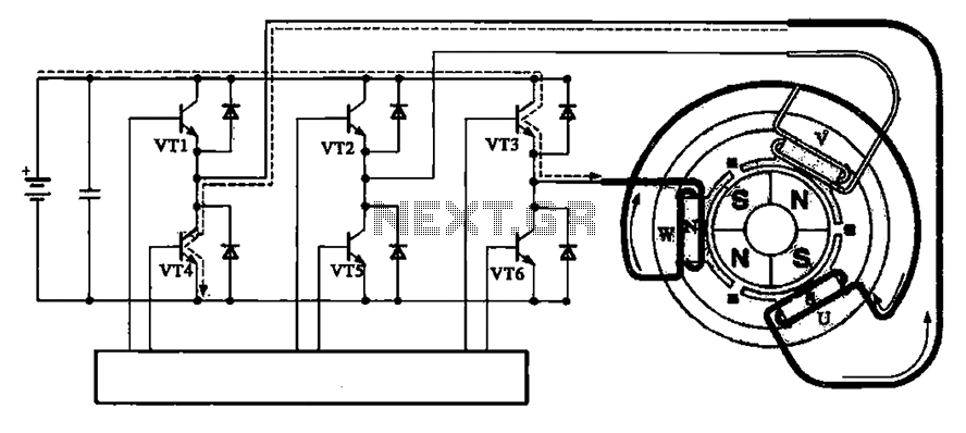 brushless motor driving circuit