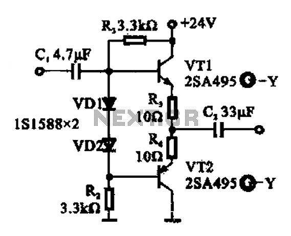 Buffer amplifier - schematic