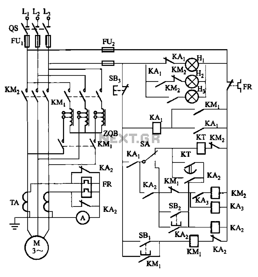 Results Page 90 About Four Way Circuit Searching Circuits At Auto Transformer Wiring Diagram On 1000v Motor Can Effectively Guarantee The Voltage Starting Main Contact Of Extinction