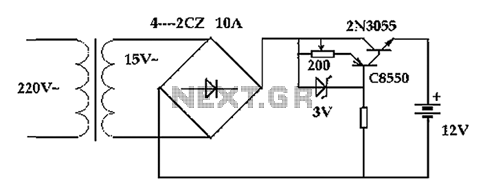 battery charger circuit diagram