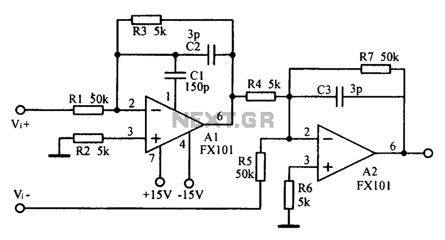 Other Circuits Common Mode Input Voltage Of The Differential