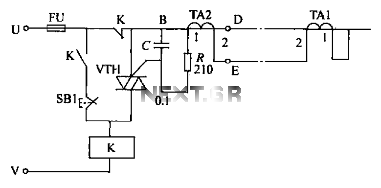 current-tampering circuit under other circuits