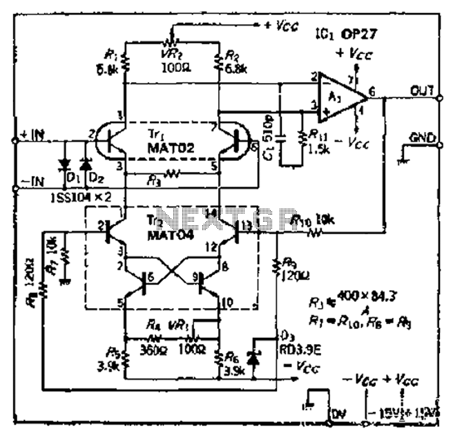 audio preamplifiers circuits page 2   audio circuits    next gr