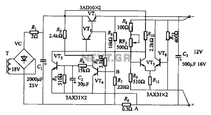 having a differential amplifier and overcurrent protection