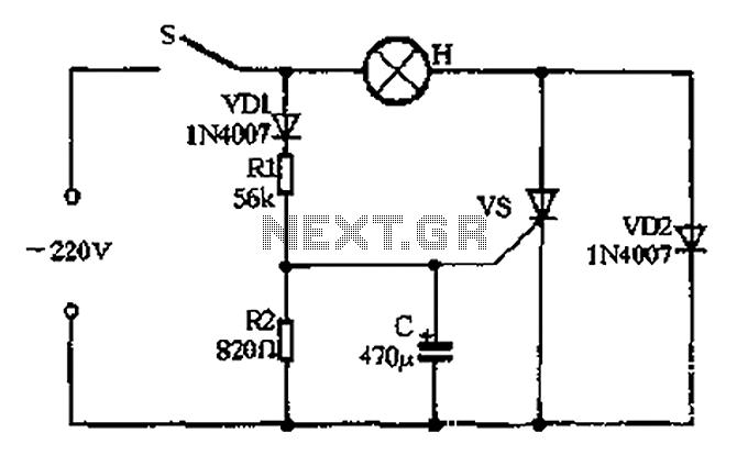 Incandescent Yeonsu electronic controller 1 - schematic