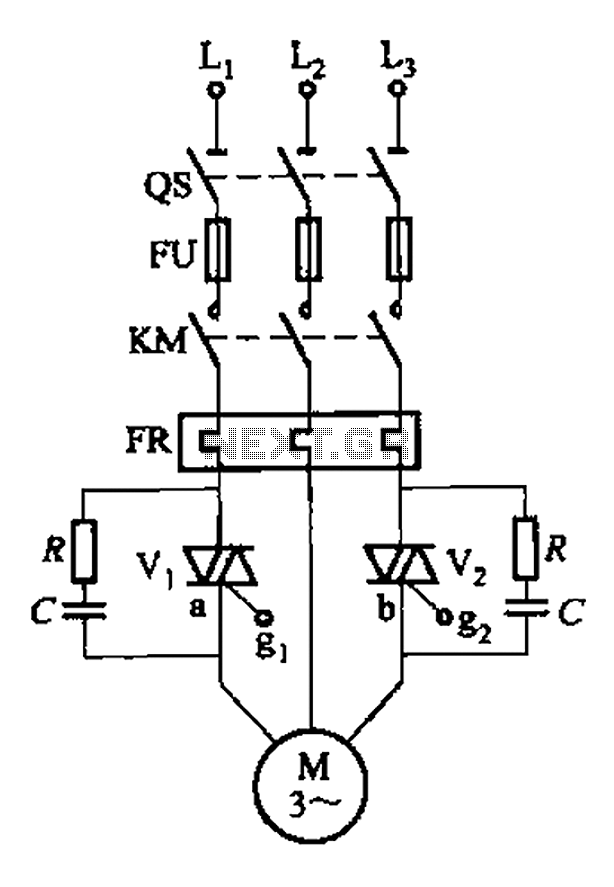 Intermittent start and stop cycle control circuit Five of a - schematic