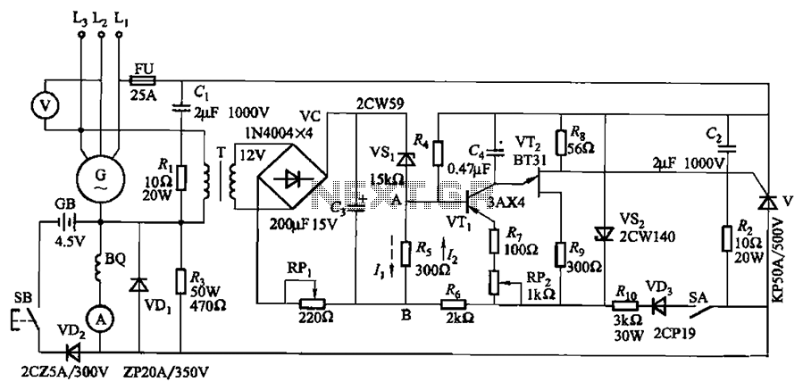 u0026gt  automations  u0026gt  kl 25 type automatic thyristor excitation