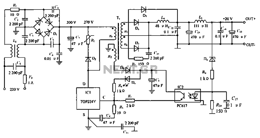 Power supplies switch mode low noise switching power supply low noise switching power supply schematic circuit diagram schematic ccuart Choice Image