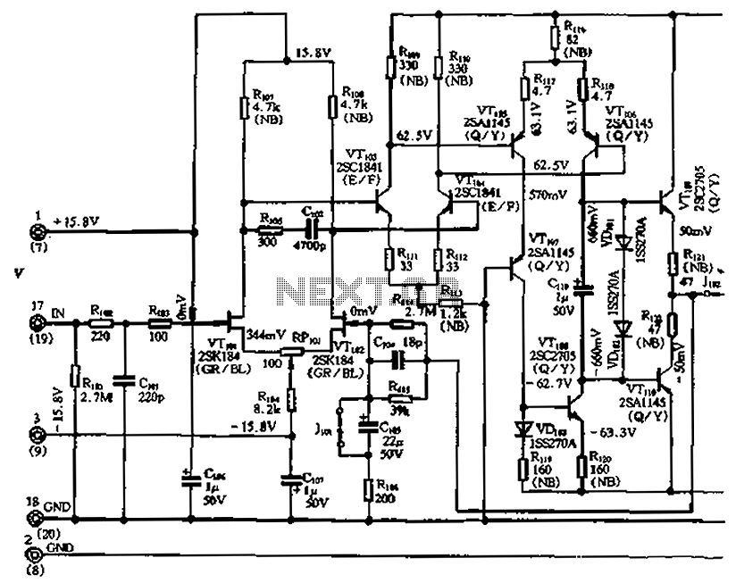 Rf Amplifiers No Linear Feedback Amplifier Circuit A L59736