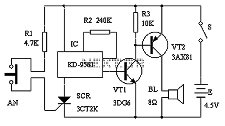 burglar alarm circuit diagram pdf burglar image security alarm circuit diagram the wiring diagram on burglar alarm circuit diagram pdf