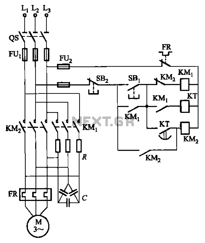 rc combined voltage starting circuit under other circuits