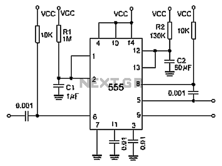 Meter Counter Timer Circuits Sequence Timer Circuit Diagram Of