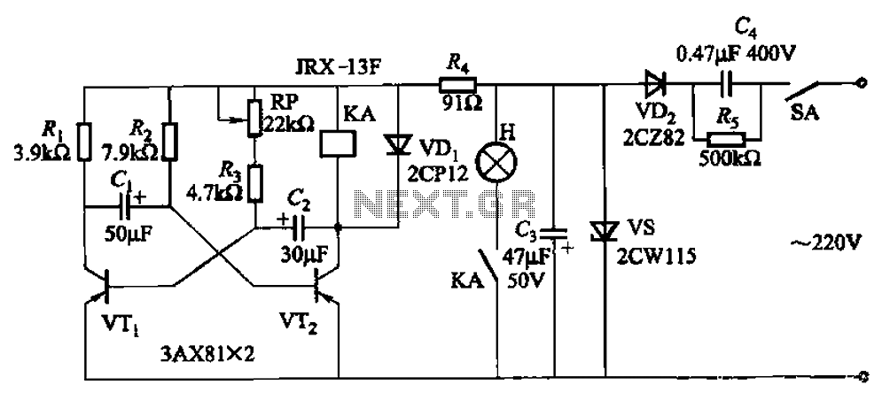 seven blinker circuits under other circuits