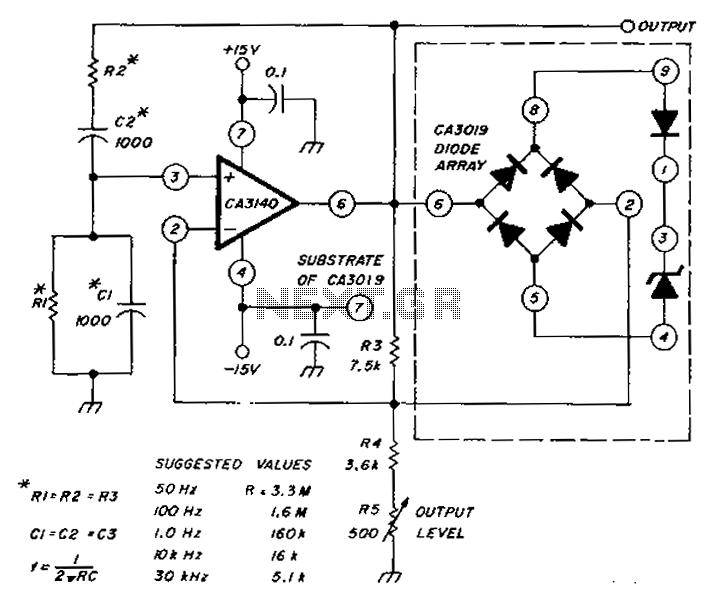 sine wave oscillator circuit   oscillator circuits    next gr