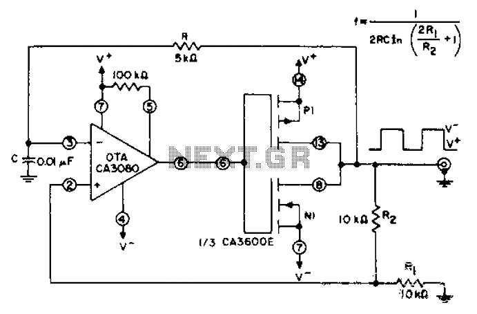 u0026gt  other circuits  u0026gt  unsteady circuit diagram of a cmos