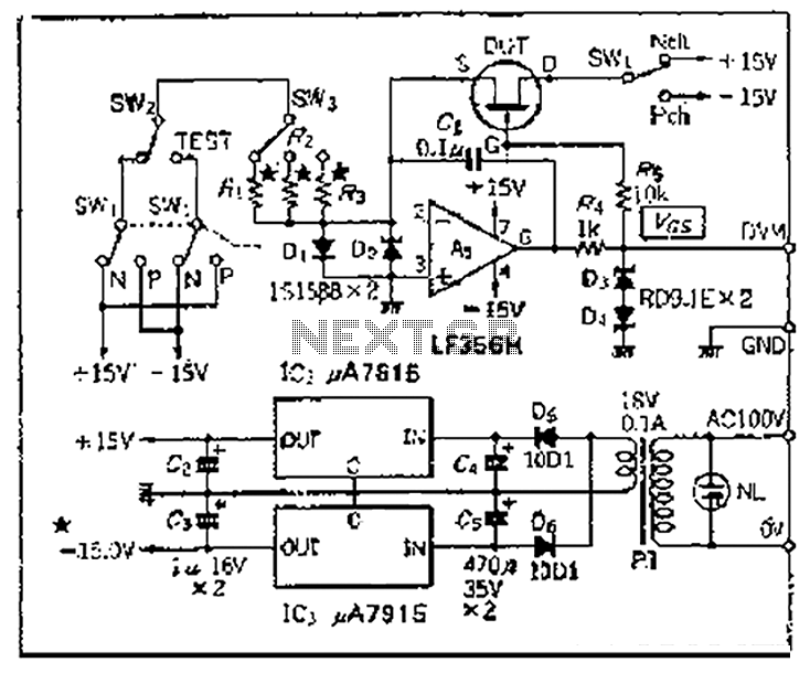 tester circuit page 3   meter counter circuits    next gr
