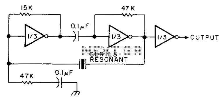 using an inverter transistor monostable circuit diagram