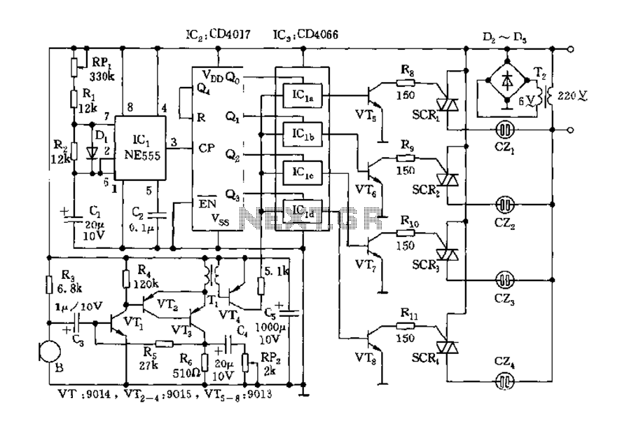 555 timer circuit : Other Circuits :: Next gr