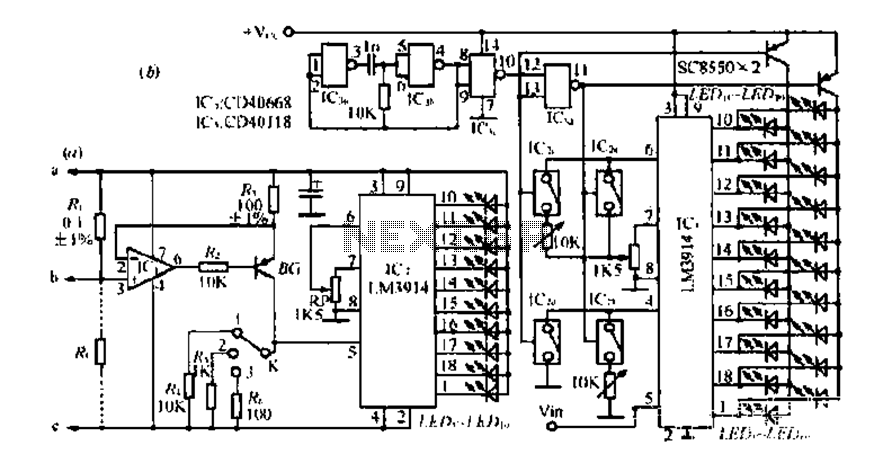 An estimate of the load current monitor circuit rod - schematic