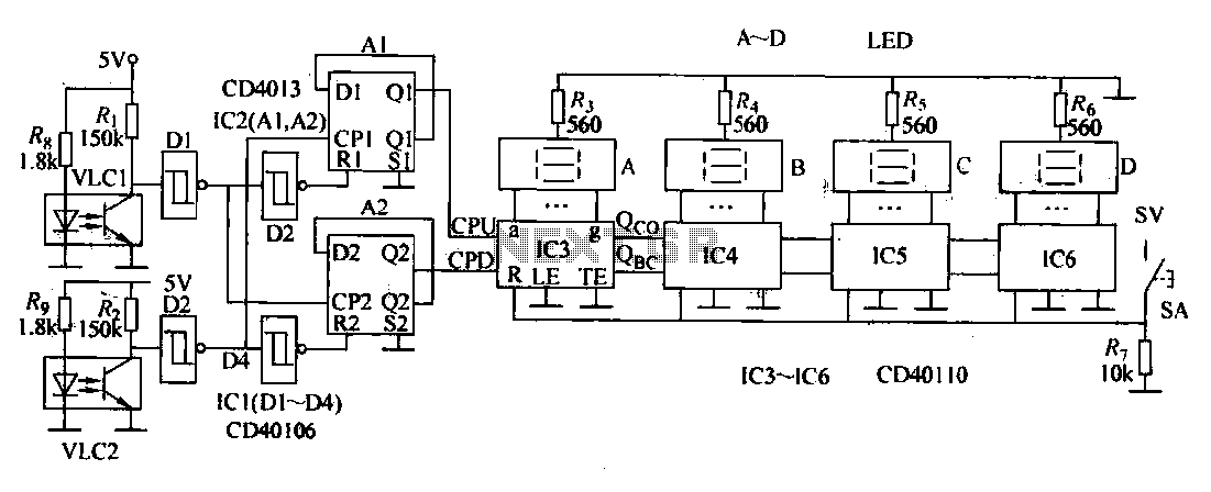 Automatic winding circuitry - schematic