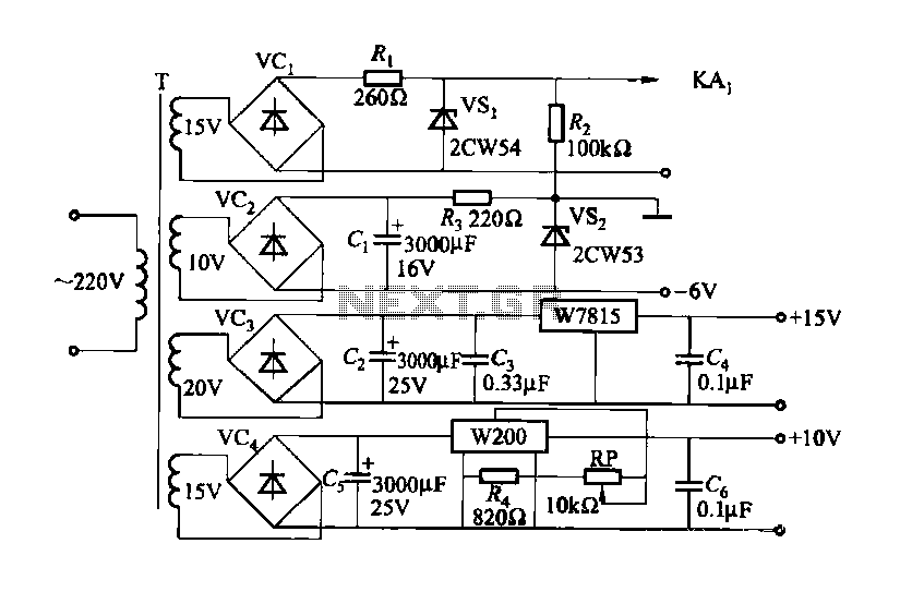 Constitute a CMOS circuit time adjustment of a spot welder - schematic