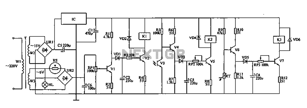 Coop automatic controller circuit diagram - schematic