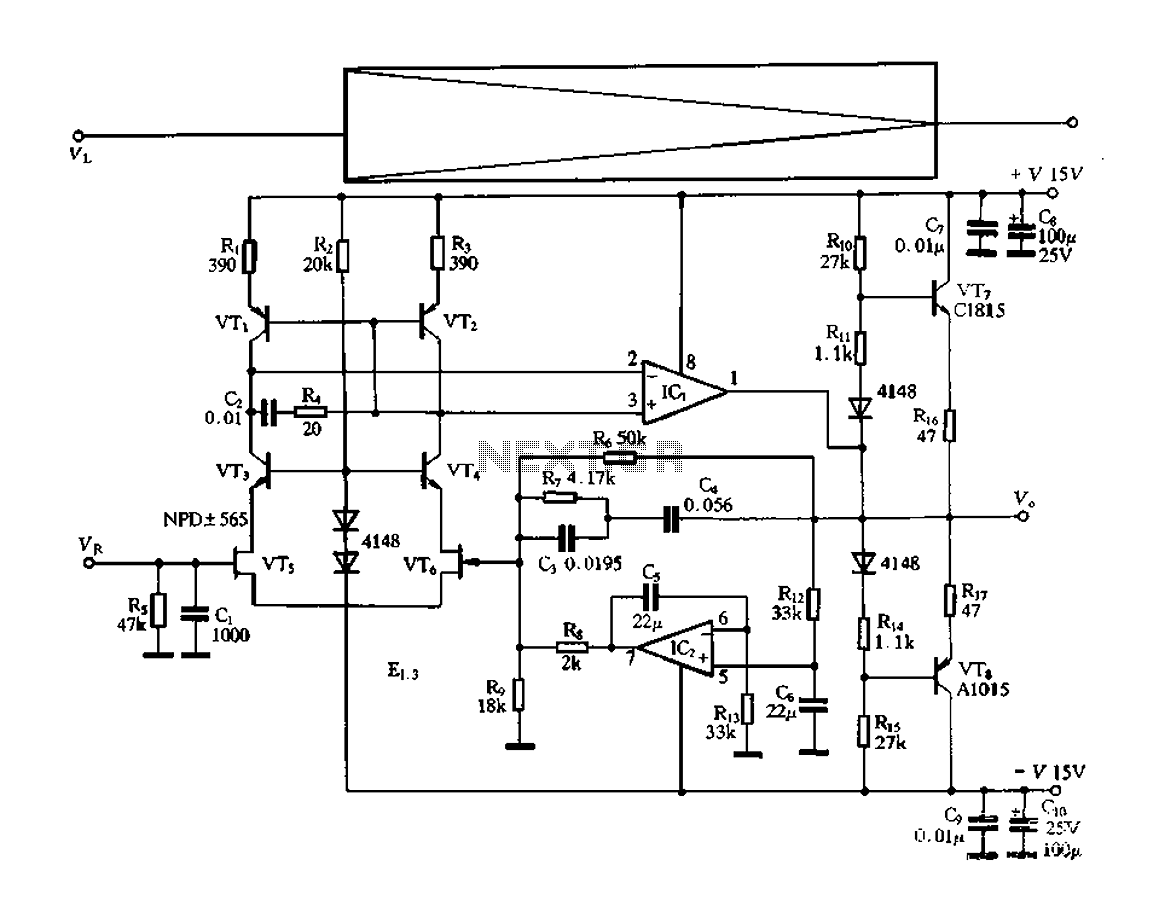 electronic switching preamplifier under preamplifier circuits