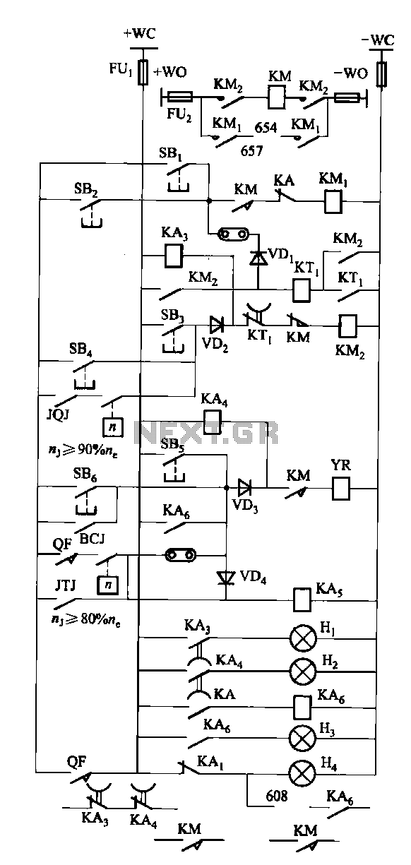 FKL-32 Operating System Circuit - schematic