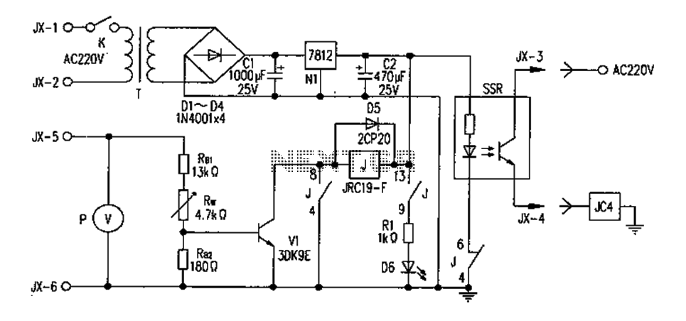 FM transmitter circuit diagram overvoltage protection