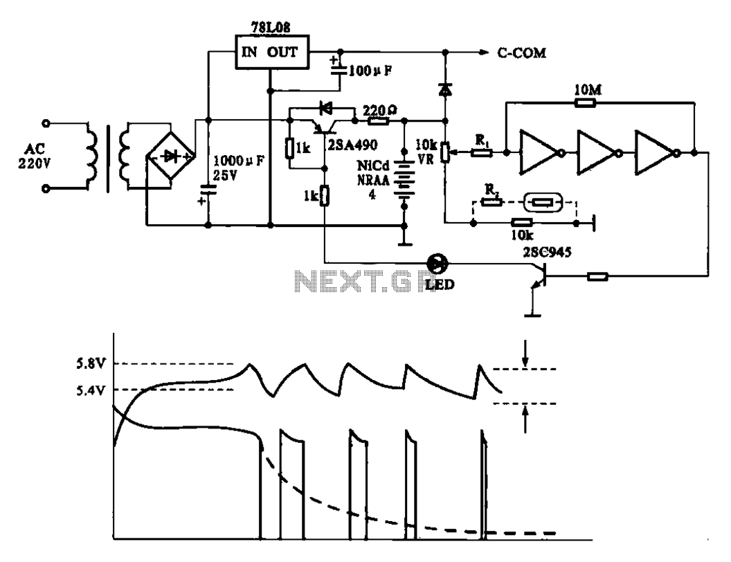 Rapid Battery Charger Schematic Not Lossing Wiring Diagram Simple Circuit Power Supply Circuits Next Gr Rh