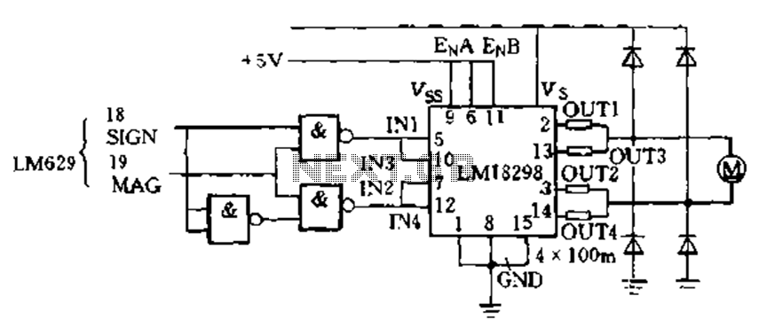 LM629PWM drive - schematic