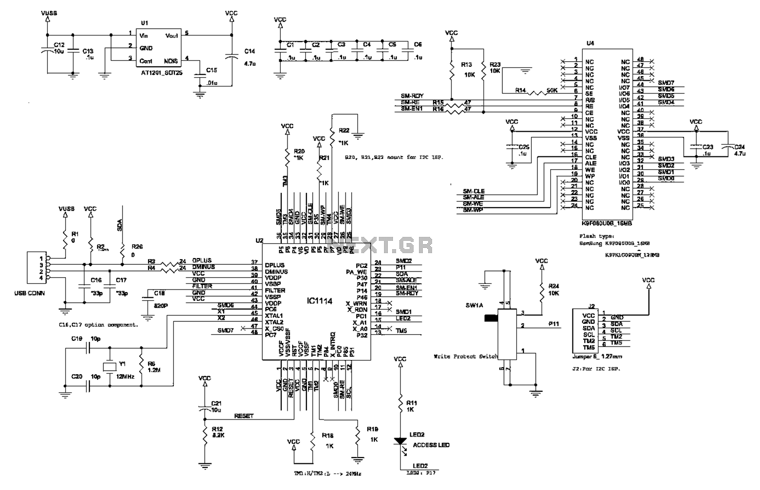 Making a circuit diagram of the crystal 80mW FM Transmitter - schematic