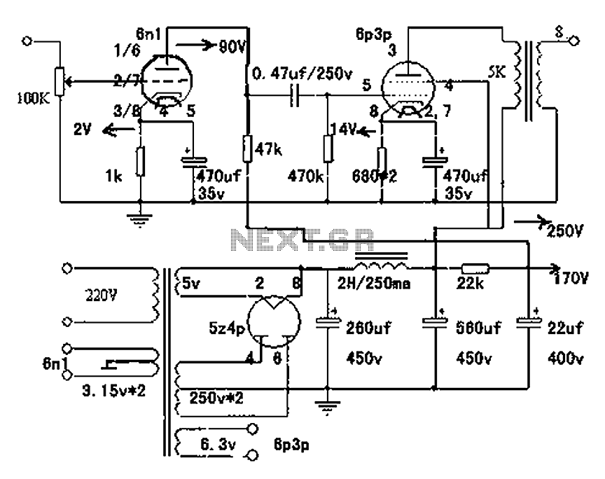 60751 6dk6   Schematics moreover Class ab subminiature furthermore Octal Pre lifier Mk2 Circuit in addition 2004 Jaguar S Type Wiring Diagram furthermore Ecl82 3. on vacuum amplifier