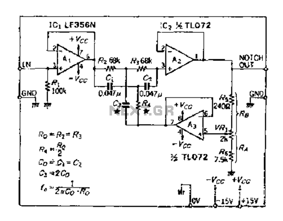 simple amplifier circuit diagram