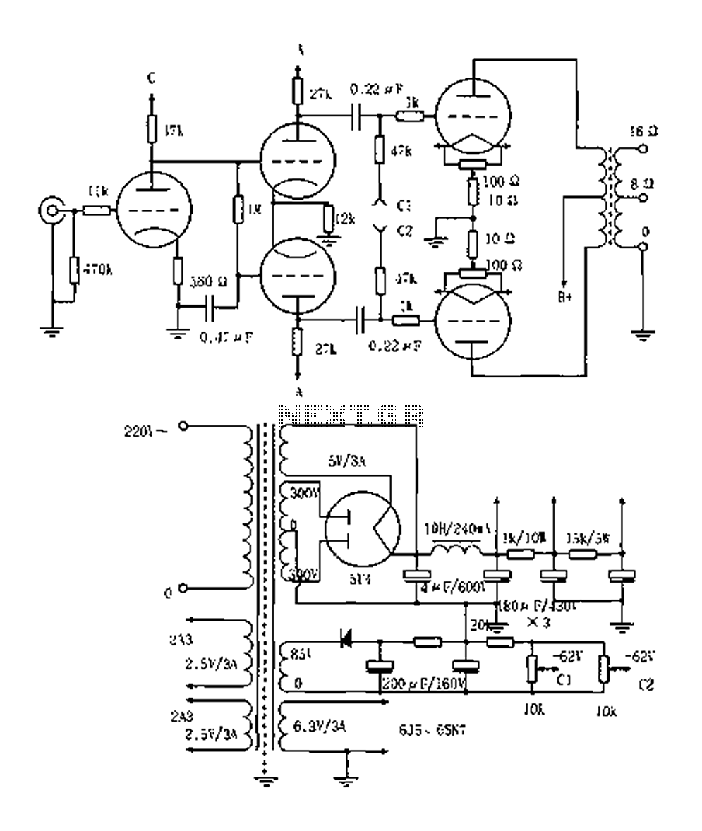 Vented 2a3p 2a3pp 15w Tube Amplifier circuit diagram vacuum tube valve circuit audio circuits next gr Voltage Regulator Wiring Diagram at soozxer.org