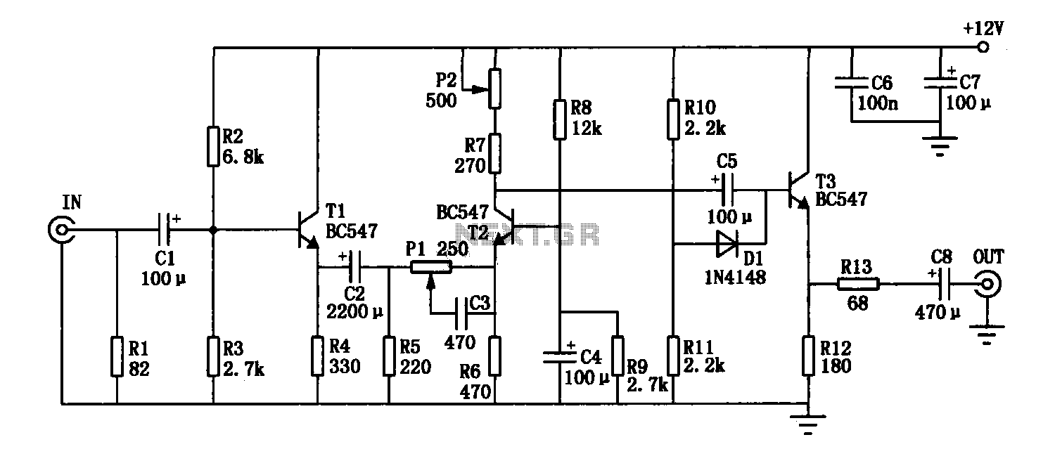 Video enhancement circuit diagram