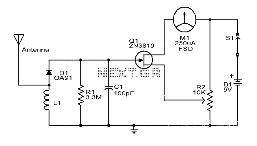 electric meter jammer circuit diagram